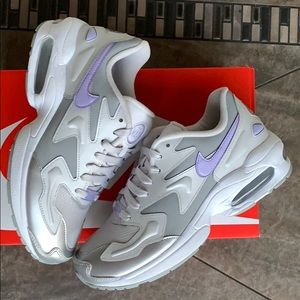 W NIKE AIR MAX2 LIGHT vast grey/purple light